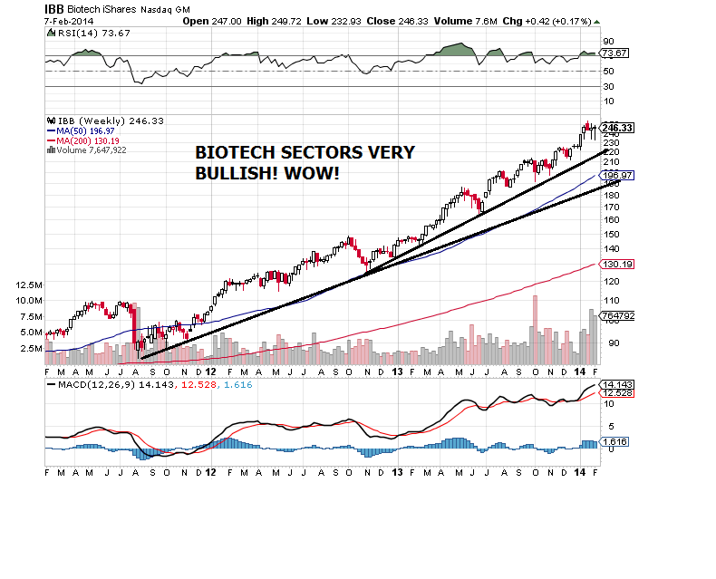 biotech index sector