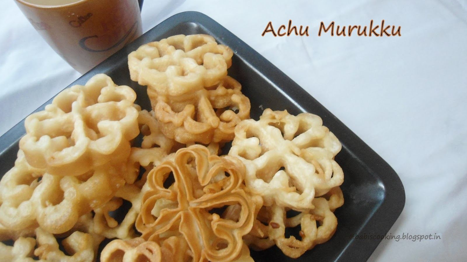 Eggless Achu  Murukku/Rose Cookies |Step by Step Pictures | Festive  Recipe ( with a small video)