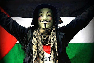 Anonymus is launching an online attack against the Zionist sites in support of Palestine