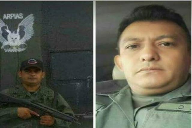 Asesinaron a estos dos militares para robarles el carro