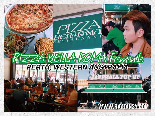 Ray Tan 陳學沿 (RayTanSY) ; Pizza Bella Roma Restaurant @ Fremantle, Perth, Western Australia