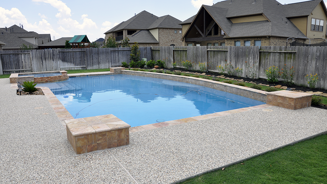 Custom Geometic Inground Pool Builder DFW  5