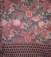 Kain Batik Prima 4529 Merah
