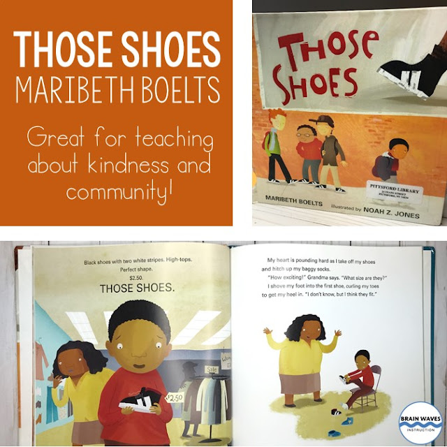 Teach students about kindness and build classroom community with this picture book. It's perfect for back to school and middle school!