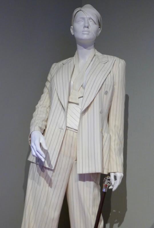 Blake Lively A Simple Favor tuxedo pantsuit