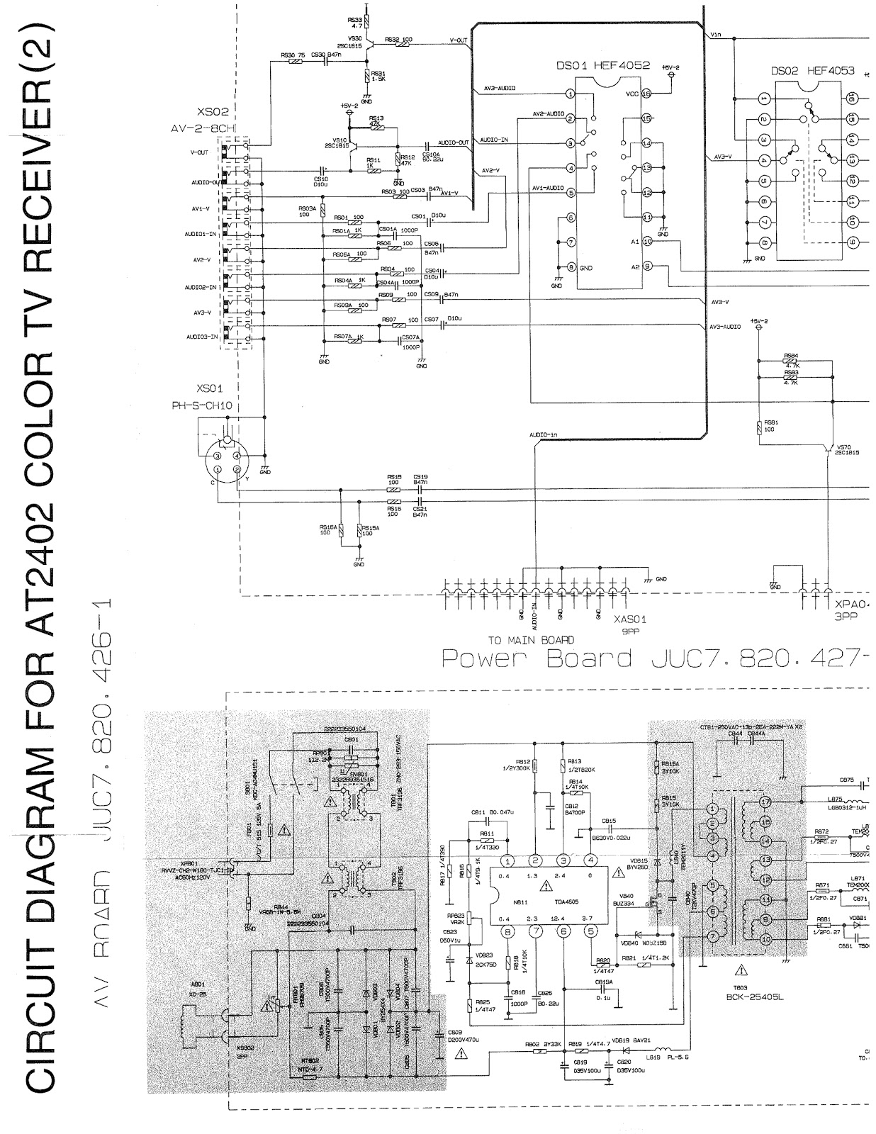 philipstvcircuitdiagram Images  Frompo  1