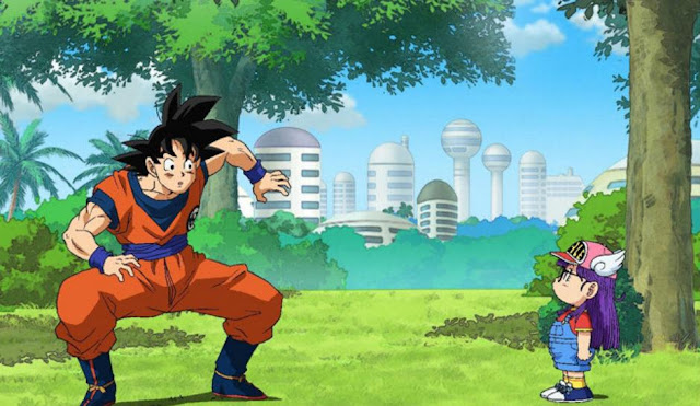 Dragon ball super episode 69 (Dragon Ball Super x Dr. Slump)