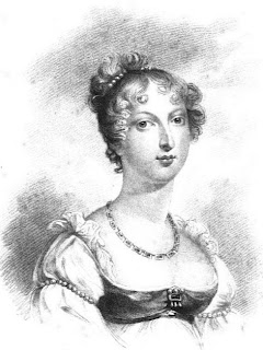 Princess Charlotte  from La Belle Assemblée (1816)