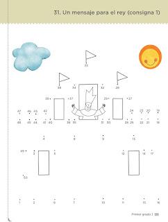 Un mensaje para el rey pagina 111 castillo desafíos matemáticos primer grado