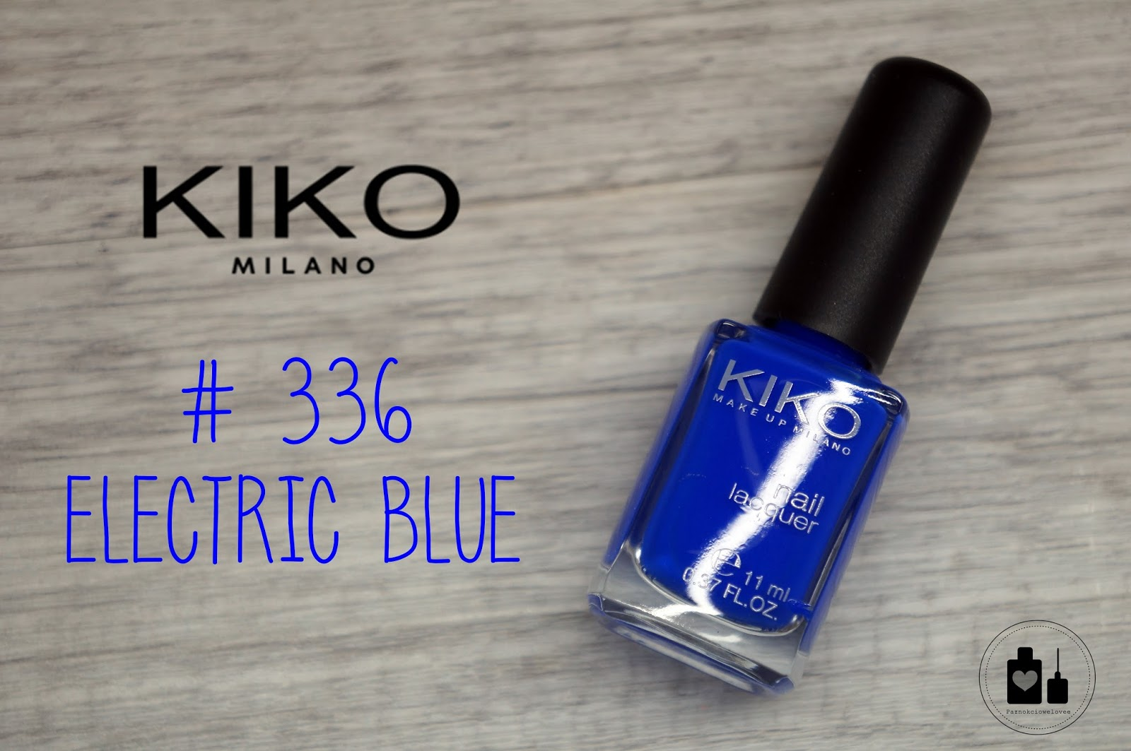 Kiko #336 Electric Blue