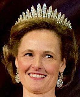 austria liechtenstein habsburg diamond fringe tiara kochert princess sophie