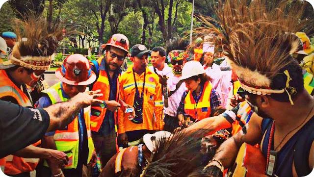 Unjuk Rasa Karyawan PTFI di Jakarta Bukan Sponsor Manajemen