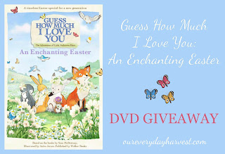 Guess How Much I Love You Easter DVD Giveaway