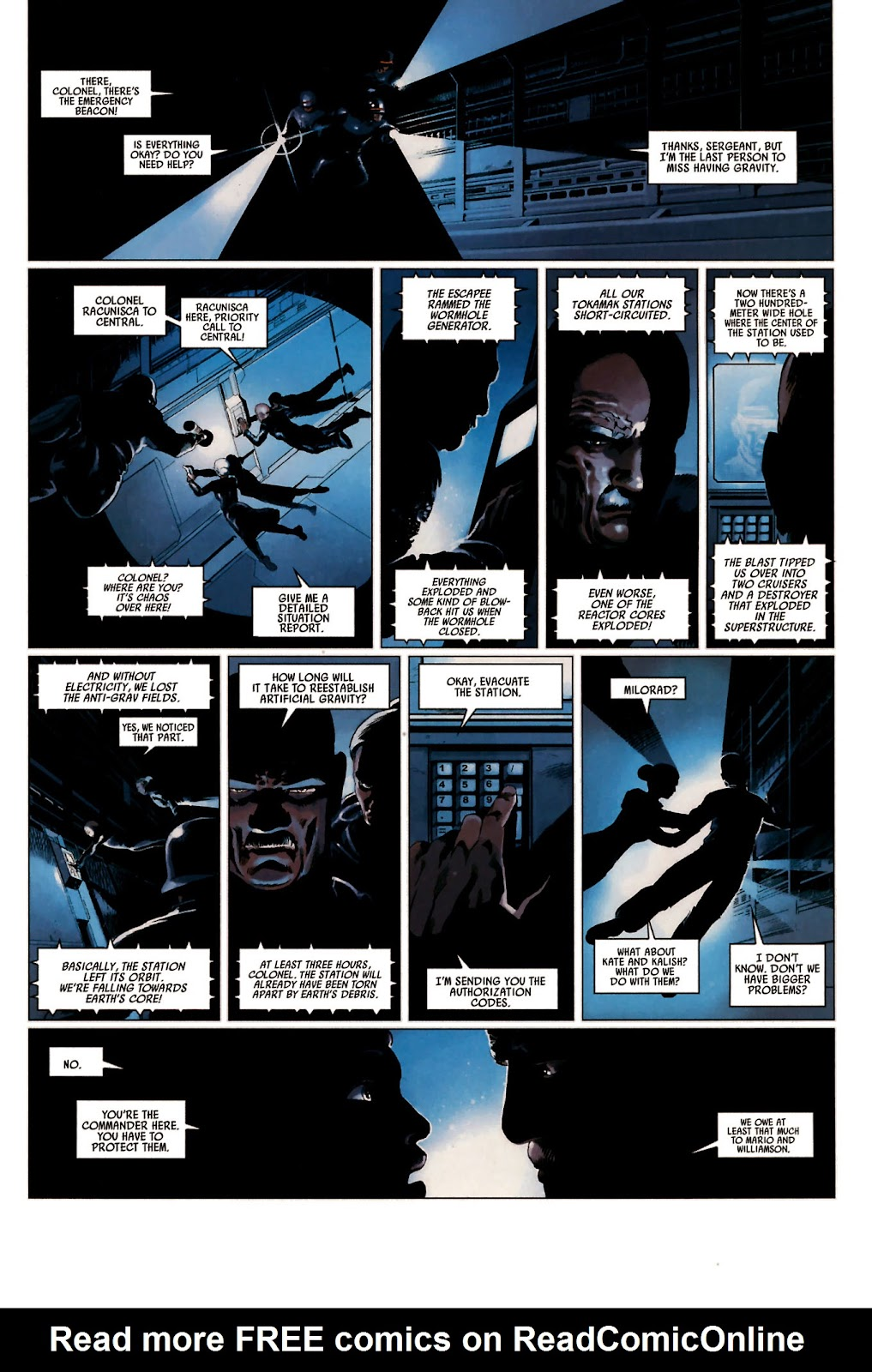 Read online Universal War One: Revelations comic -  Issue #2 - 37