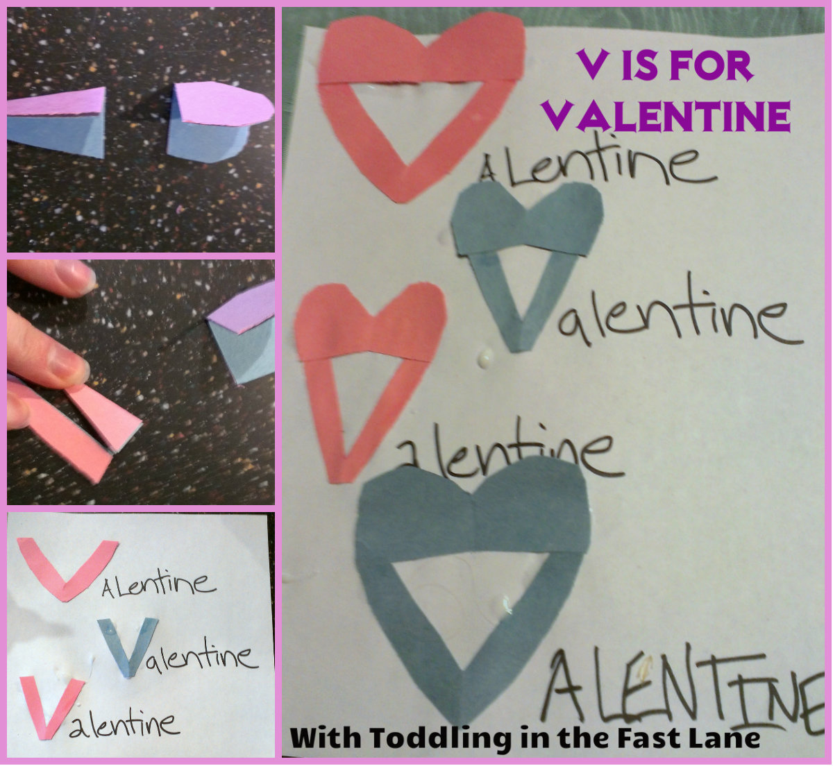 Toddling In The Fast Lane V Is For Valentine