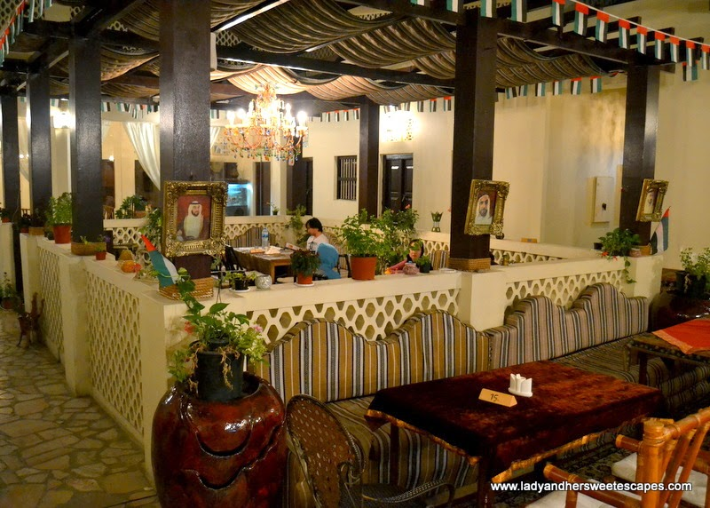 Local House restaurant in Bastakiya Dubai