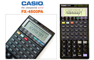rumus program casio fx 4500 pa