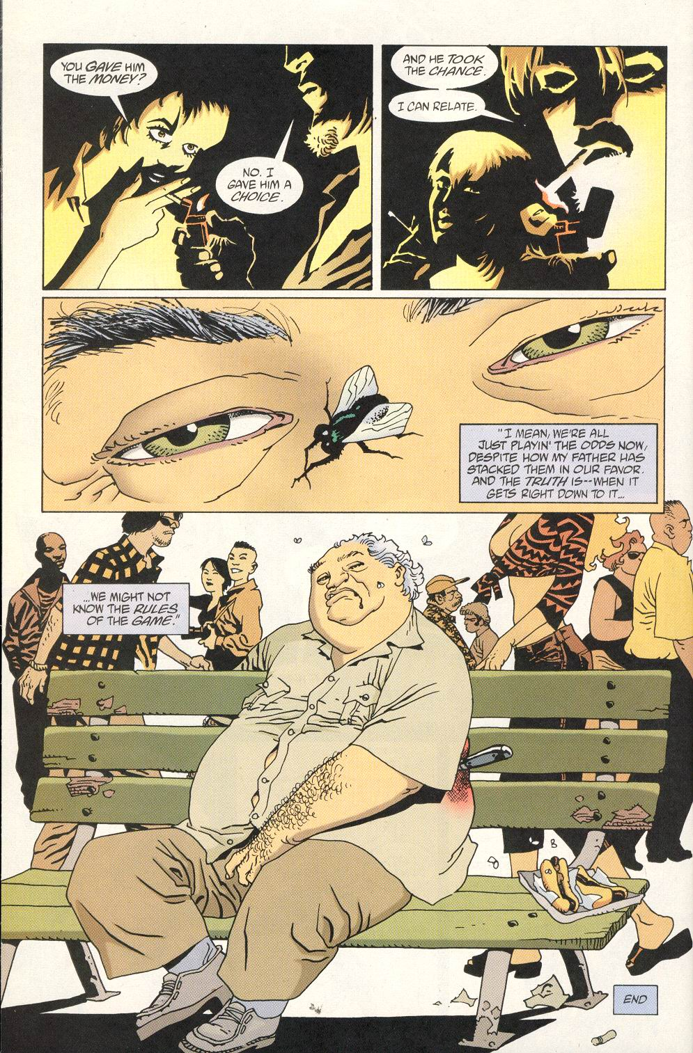 Read online 100 Bullets comic -  Issue #25 - 24
