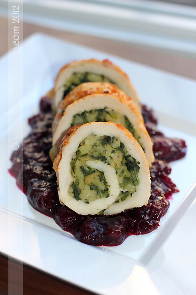 Turkey Roulade with 5-Minute Stuffing by Busy in Brooklyn