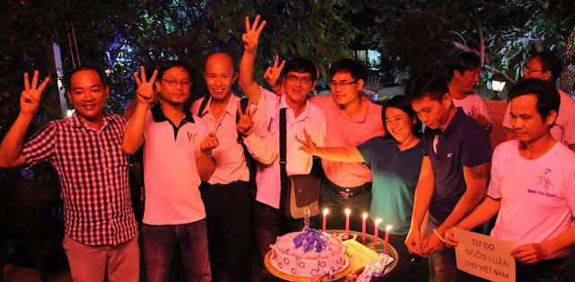 Mạng lưới Blogger Việt Nam mừng sinh nhật lần 2 và chào mừng 67 năm ngày Quốc tế Nhân Quyền 10.12.2015