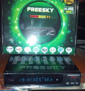 FREESKY - NOVA ATUALIZAÇÃO DA MARCA FREESKY 111111