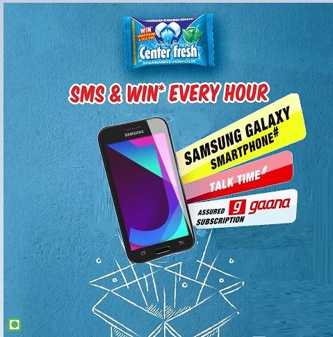 Center Fresh - Smartphone & Talk time Contest | Win Assured