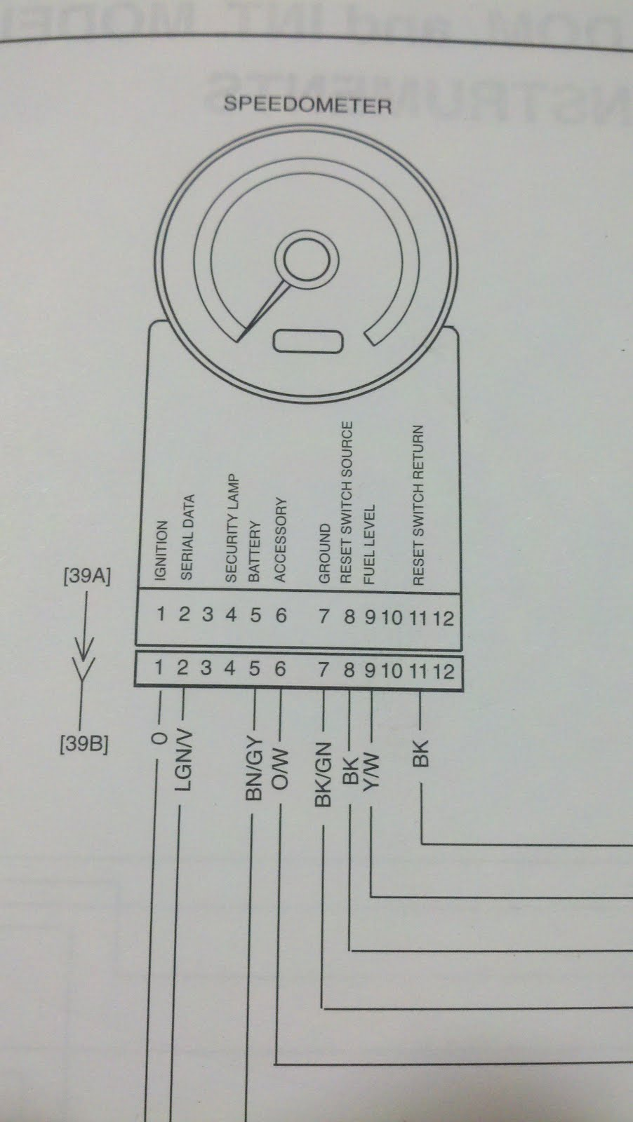 standard plug in wiring diagram