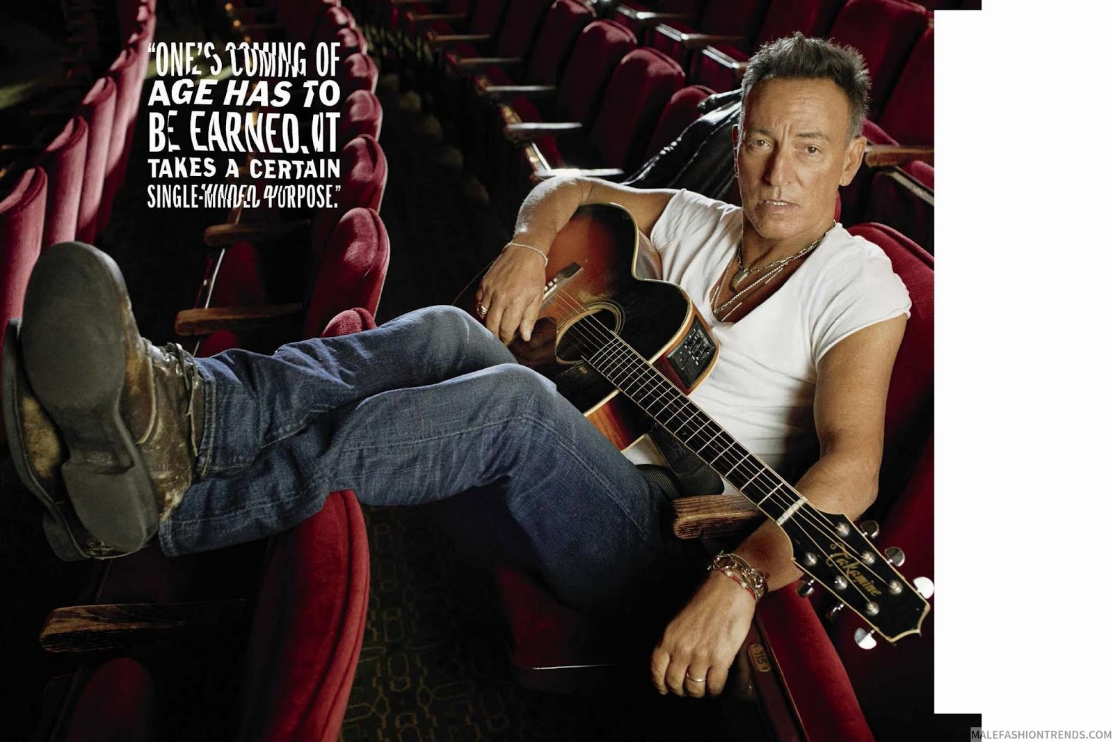 Bruce Springsteen para Esquire US Winter Issue por Alexi Lubomirski