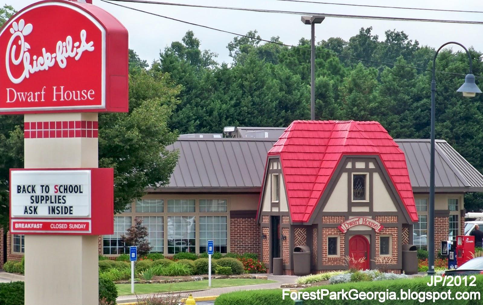 FOREST PARK GEORGIA Clayton County Restaurant Attorney Bank