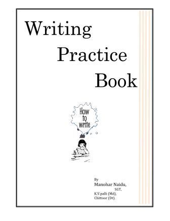 Writing Practice Book Leading Website For Ap And