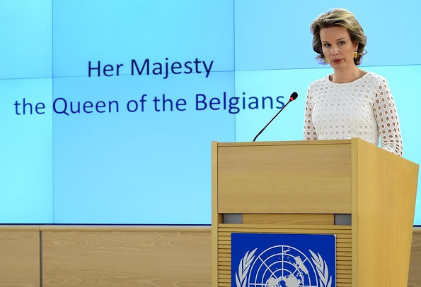 Queen Mathilde Was Appointed As A SDGs Member