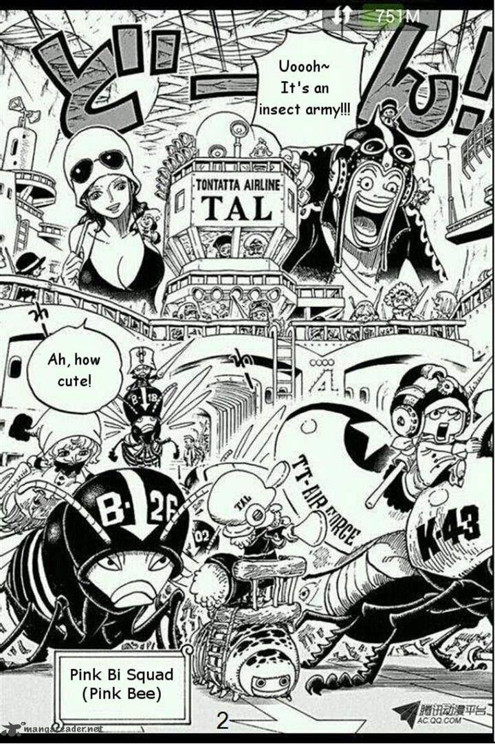 One Piece Ch 718: The Imperial Riku Forces of the
