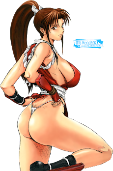 The King of Fighters - Shiranui Mai Render 4