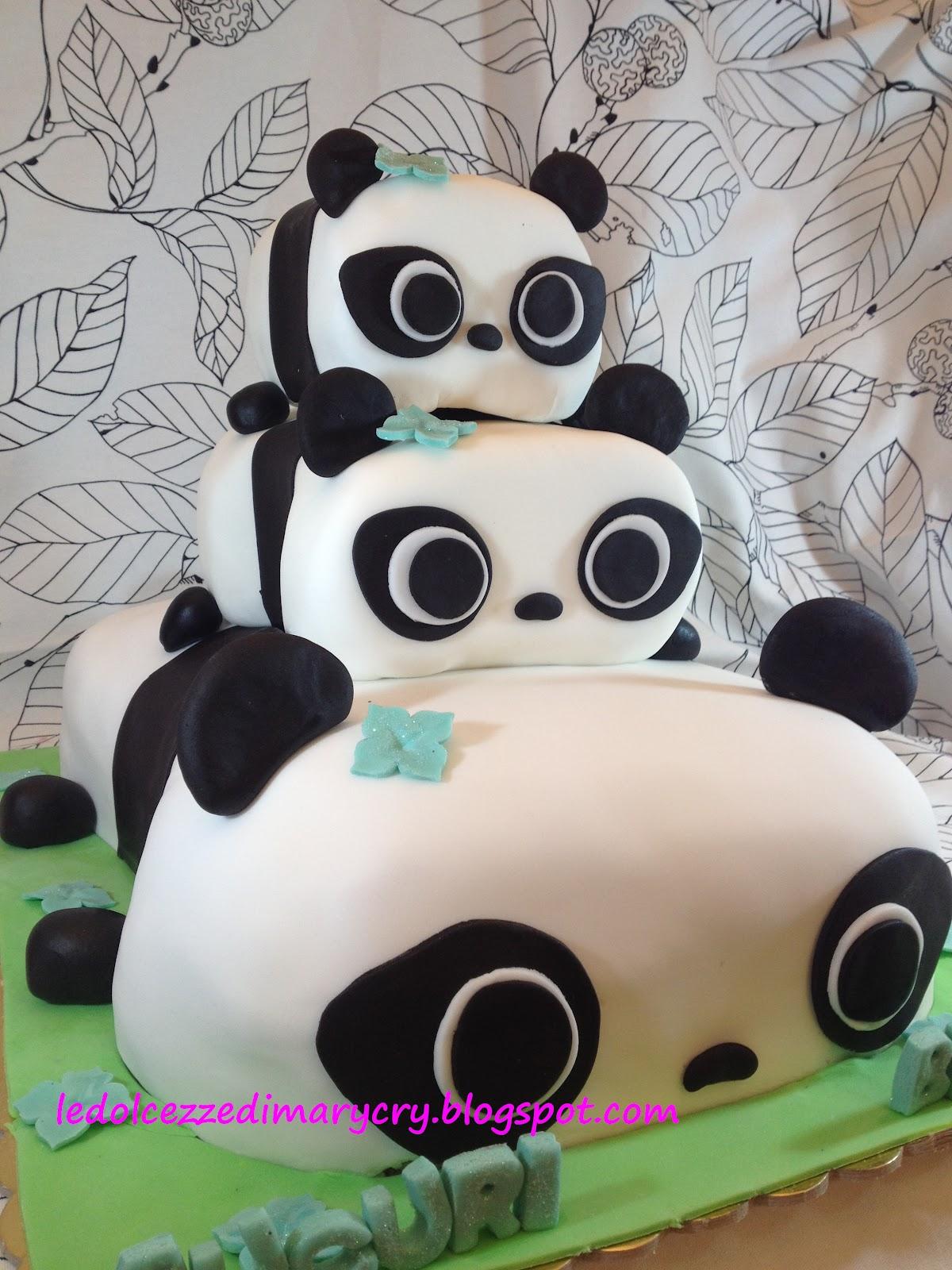 Le Dolcezze Di Mary Cry Panda Cake