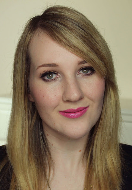 Jordana Hot Pink lipstick swatches & review
