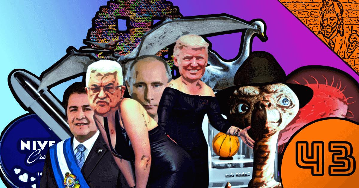 QN NEWS #43 - Jerusalém, Honduras, Putin, DNA, Pterossauros e Bactérias