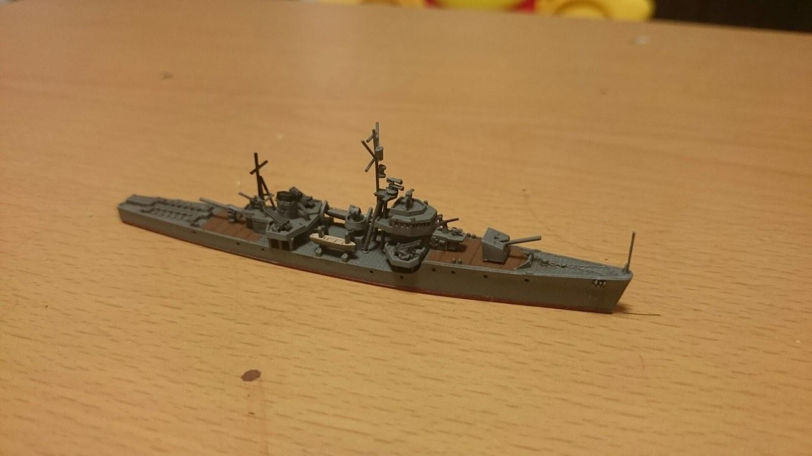 kumaの模型趣味: ピットロード 丙型海防艦 第13号海防艦 製作