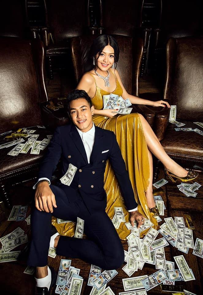 Shwe Htoo and Shwe Mhone Yati Couple Photoshoot
