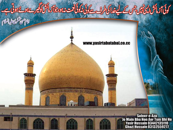 Chak 36 N.B: Roza Imam Hassan a.s Picture