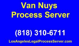 Van Nuys Process Servers