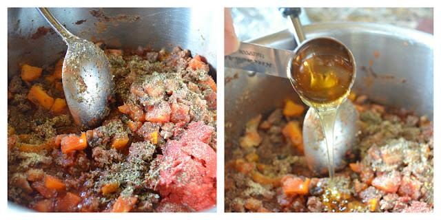 Italian-Sloppy-Joes-Bell-Pepper-Tomato-Sauce-Paste-Diced-Italian-Seasoning-Galic-Powder-Red-Pepper-Flake-Salt-Pepper-Honey.jpg
