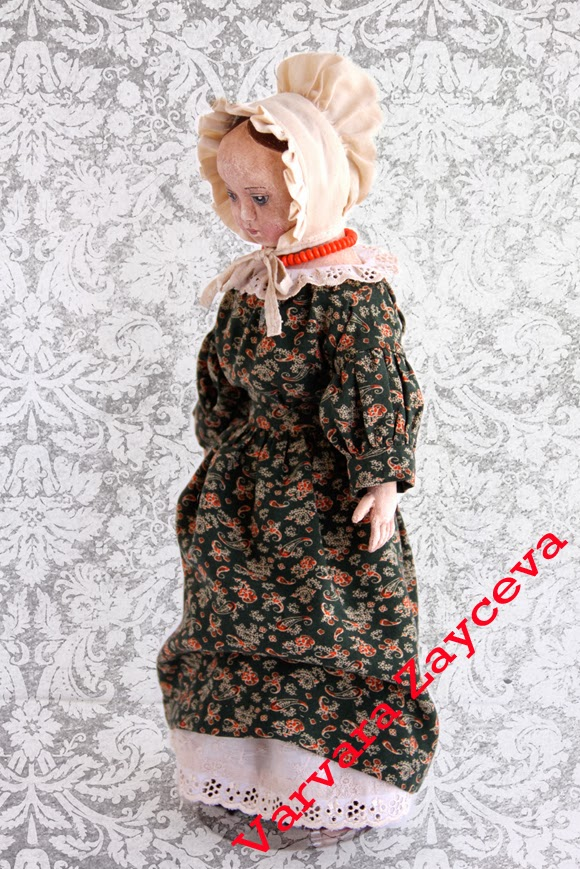 Изанна Уокер, Civil War era, antique doll, Izannah Walker, IzannahRu, reproduction doll, Svetlana Lukina, American cloth doll, primitive doll, Светлана Лукина