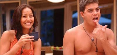 Sabrina Sato e Dhomini em Big Brother Brasil 3, na Globo; eles vão se reencontrar na Record