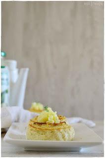 Pastel de calabacin con gratinado de queso- Pastel de calabacin a la italiana- Pastel de calabacin al microondas
