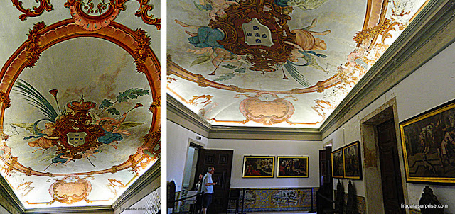 Sala das Armas, no Paço das Escolas da Universidade de Coimbra