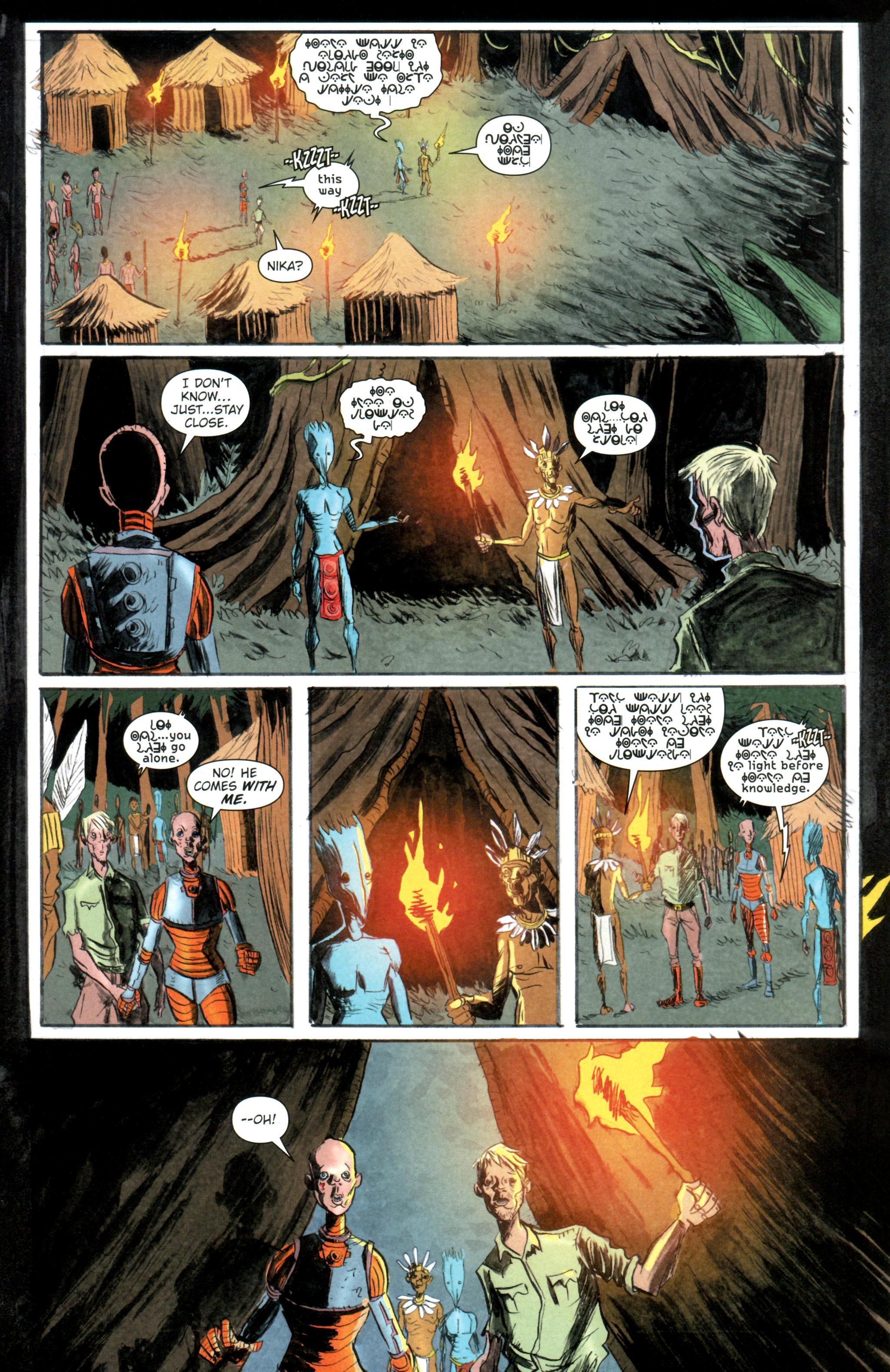 Read online Trillium comic -  Issue #4 - 8