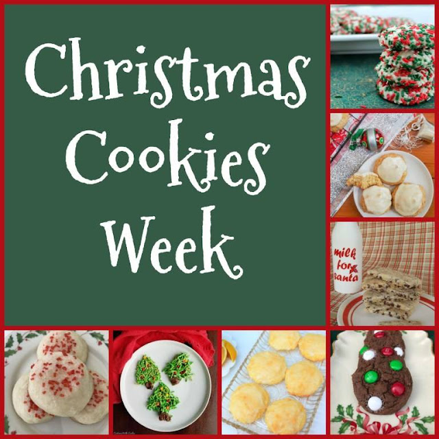 Christmas cookie week logo