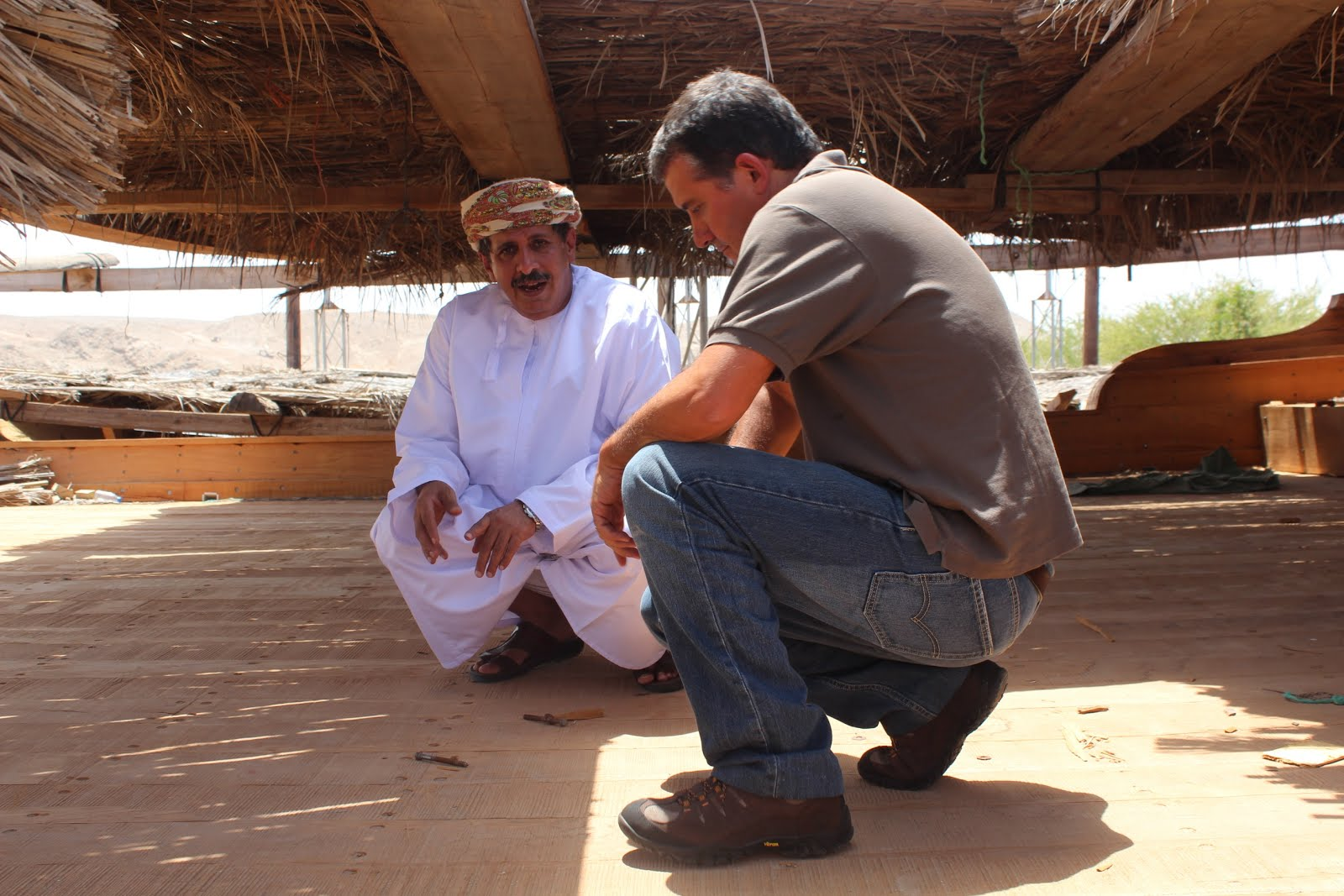 Omani ship building traditions