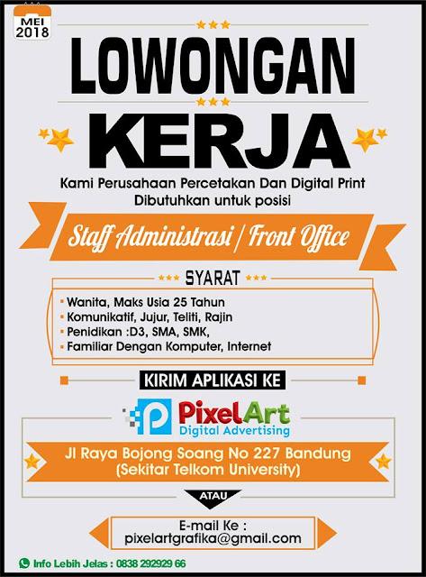 Loker PixelArt Digital Printing Bandung