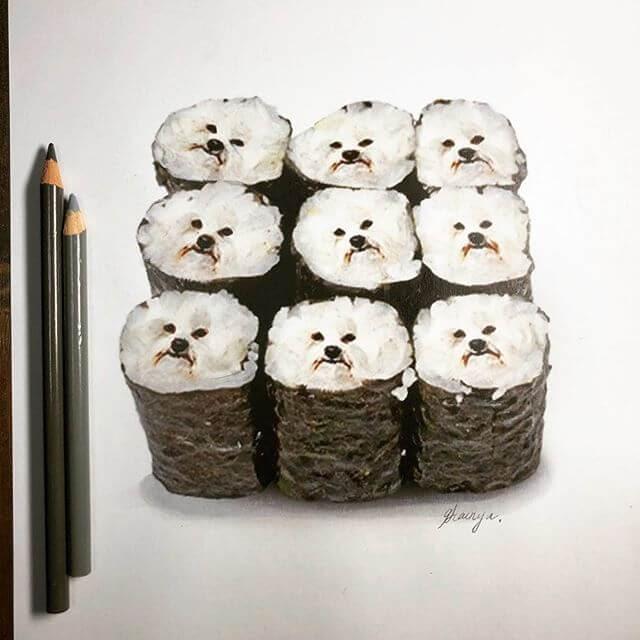 04-Sushi-Dogs-Guanyu-Animal-Mashup-www-designstack-co